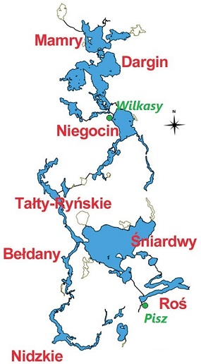 mapa mazurska