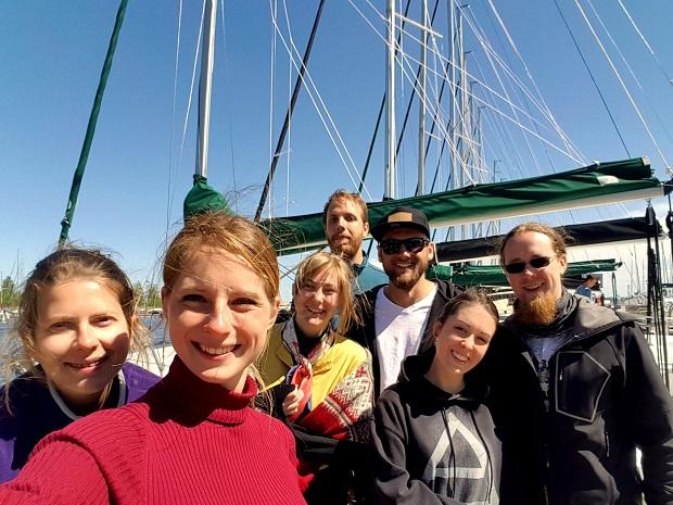 młodzi żeglarze