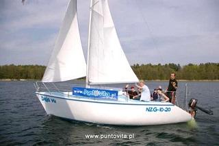 Deja Vu – pierwszy jacht PuntoVita Tango 730 (fot. 2009 r.)