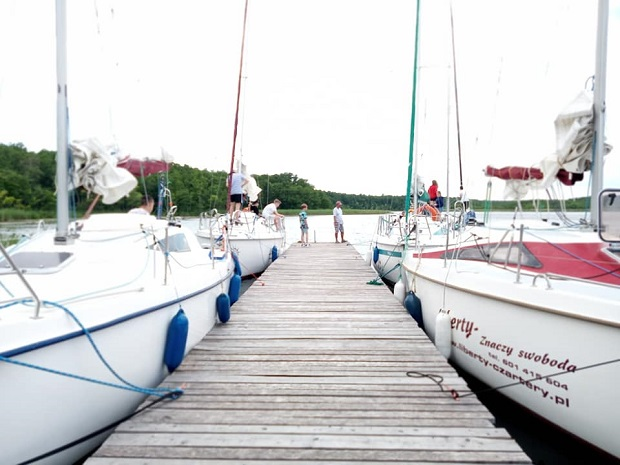 jachty port mazury