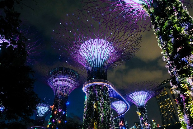 Niesamowity Singapur