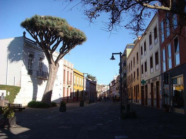 miasto San Cristóbal de La Laguna na Teneryfie