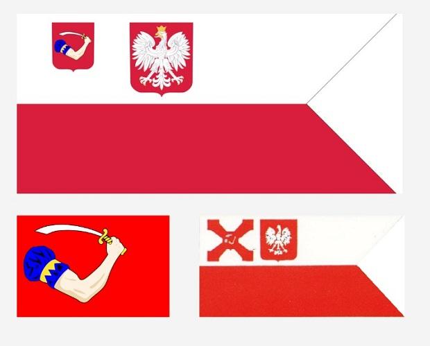 Trzecia polska bandera klubowa