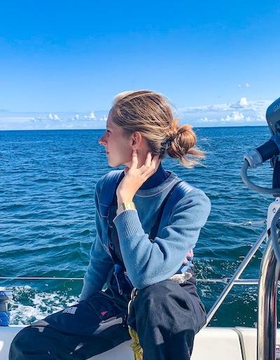 barbara zaczek instruktor żeglarstwa