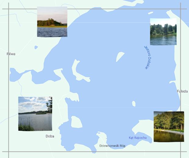 jeziora na dziewiszewskim rogu