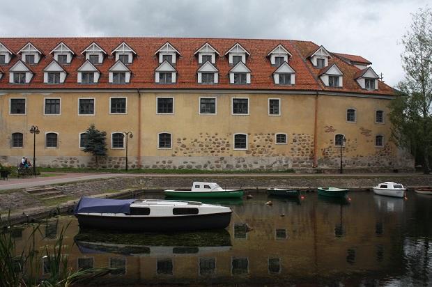 Zamek krzyżacki w Węgorzewie
