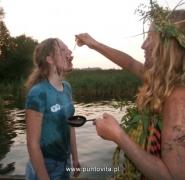 Spartańskie warunki żeglarskie - Mazury 2012