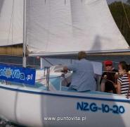 Rejsy żeglarskie - Mazury 2010