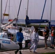 Wejście na jacht - Mazury 2010