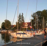 Jachty nad ranem - Mazury 2009
