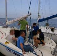 Kursy i szkolenia żeglarskie na Mazurach - lato 2009