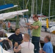 Rozmowy na jachcie - Mazury 2009