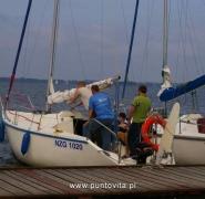 Wsiadanie do jachtu