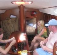 Kajuta jachtu - Mazury 2009