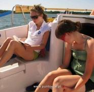 Nauka w trakcie żeglowania na Mazurach