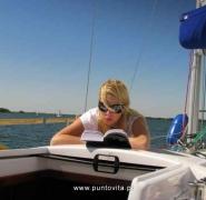 Nauka żeglarstwa Mazury 2009