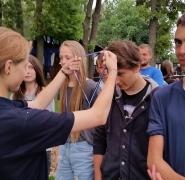 Odznaczenia młodych żeglarzy