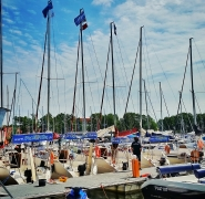 Przystań żeglarska szkoły PuntoVita