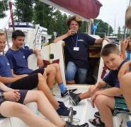 Relaks żeglarski na Mazurach 2016