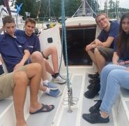 Wypoczynek żeglarzy na Mazurach