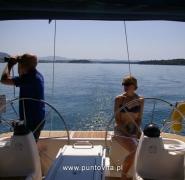 Obserwacja Chorwacji przez lornetkę