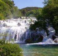 Wodospad w Chorwacji