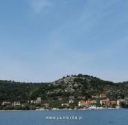 Widok wód Chorwacji