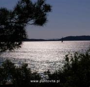 Żeglowanie wieczorem Chorwacja maj 2011