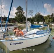 Dzieci na jachcie Laguna