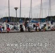 Panorama floty jachtów