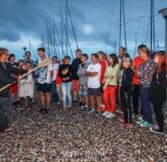 Pasowanie na żeglarza Mazury 2013