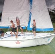 Zabawy młodych żeglarzy