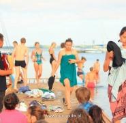 Młodzież po kąpieli Mazury 2013