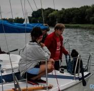 Ekipa młodzieży na pokładzie