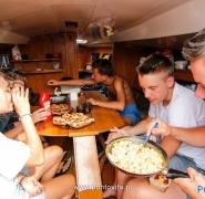 Posiłek żeglarzy