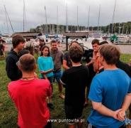 Spotkanie młodzieży na lądzie