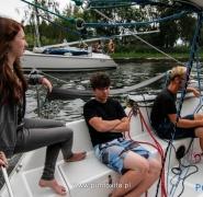 Trójka żeglarzy