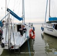 Baza jachtów na Mazurach