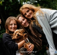 Młodzież na mazurskim szlaku
