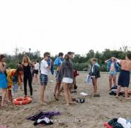 Młodzież na plaży 2014