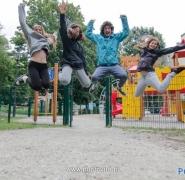 Młodzież na wakacjach Mazury 2014