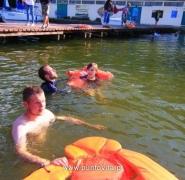 Pływanie na Mazurach