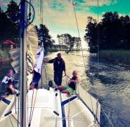 Profesjonalny jachting - Mazury 2012