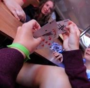 Gry w karty na Mazurach
