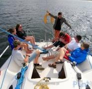 Jachting dla dzieci - Mazury 2015