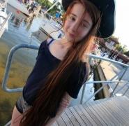 Młoda Pani żeglarz