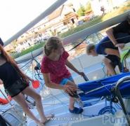 Młode żeglarki Mazury 2015