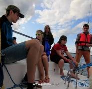 Młodzi żeglarze - Mazury