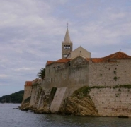 Widoki na kościół w Chorwacji