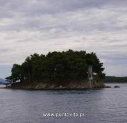 Wysepka w Chorwacji